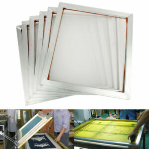 6pack Aluminum Silk Screen Frame Printing Press Screens 110 Mesh 45 X 50cm