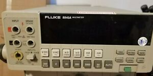 Fluke Model 8840a Benchtop Multimeter Dmm 4 Wire Kelvin