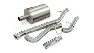 Corsa Single Side Exit Catback Exhaust System For 96 06 Silverado Sierra 24263