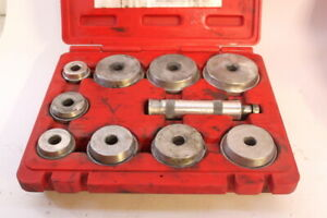 Mac Tools Model brd129ma Bearing Race Seal Driver Set In Case Complete