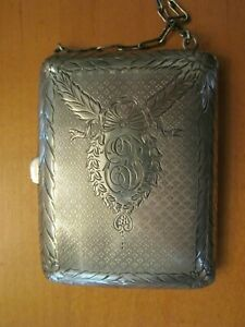 Antique Sterling Purse Coin Vanity