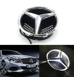 Front Grille Grill Star Emblm For Mercedes Benz 2006 2013 Illuminated Led Light