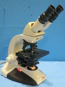 Leica Dme Upright Phase Microscope With 3 Objectives And S1 Condenser