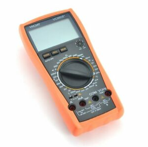 Samyo Vc9808 3 1 2 Smart Digital Multimeter With Dcv Acv Dca Aca Resistance Ind
