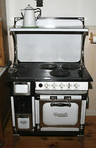 Price Reduced Antique Monarch Wood Coal Electric Stove Restored