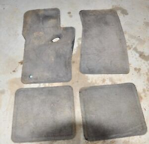 2000 Ford Explorer Floor Mats Oem Carpets Gray