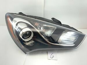 2013 2014 2015 2016 Hyundai Genesis Coupe Projector Halogen Headlight Oem 13 14