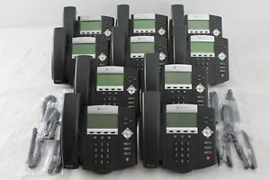 Lot Of 10 Polycom Soundpoint Ip 450 Ip450 Sip Phones