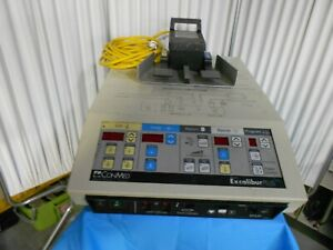 Conmed Excalibur Plus Pc Electrosurgical Unit With Footswitch