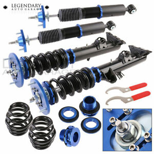 1992 1998 Bmw E36 3 Series Euro Edm Suspension Coilover Lowering Spring Blue