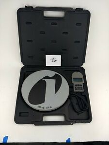 Inficon Wey tek 713 500 g1 220 Lb Refrigerant Charging Scale With Case