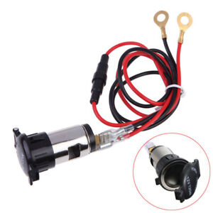 12v 120w Car Boat Tractor Cigarette Lighter Power Socket Outlet Plug Lc