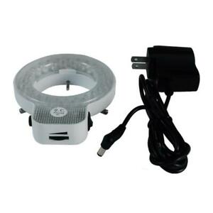 48 Led Microscope Ring Light Diameter 61mm 3 2w With Power Cord