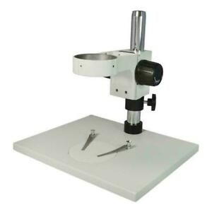 76mm Microscope Table Post Stand 280mm Post Base 320x260mm