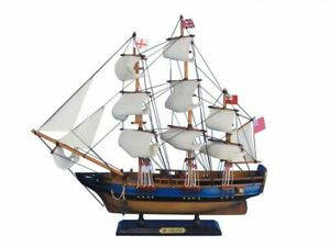 Hms Endeavour 20 Wood Ship Model Tall Ship Hms Endeavour Model Ship