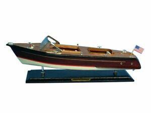 Chris Craft Runabout 20 Model Speed Boat Wooden Speed Boat