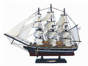 Star Of India 15 Historic Model Ship Nautical Decor Wooden Ship Model