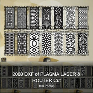 New Collection 2000 Dxf Of Laser Plasma Router Cut cnc Vector Cnc Design