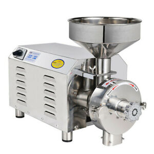 Automatic Continuous Mill Herb Grinder Pulverizer Machine 2200w 110v 220v