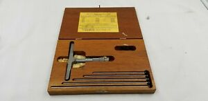 Lufkin 515 Micrometer Depth Gauge