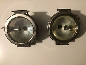 Antique Car Truck Headlight Tail Light Pair Red Rear Lens Ford Chevy Buick Etc