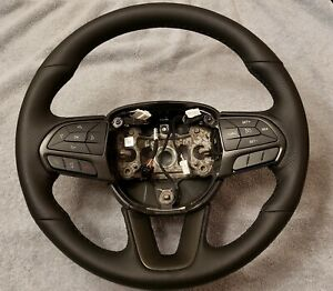 15 17 Oem Dodge Challenger Charger Scat Pack Steering Wheel No Shift Pedals