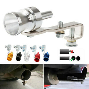 Car Turbo Sound Muffler Exhaust Pipe Oversized Roar Maker Loud Whistle Sound Xl
