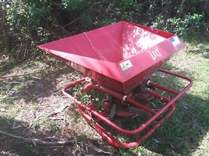 3 Point Trailer Hitch Attachment Cat 1 Tractor Seeder Or Fertilizer Spreader