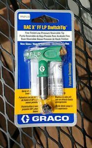 Graco Rac X Fflp110 Switchtip Low Pressure Reversible Tip Paint Sprayer new