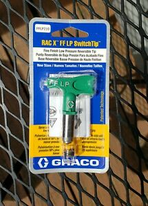Graco Rac X Fflp210 Switchtip Low Pressure Reversible Tip Paint Sprayer new