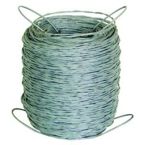 Barbless Wire Roll Livestock Fencing Utility Outdoor Garden 1320 Ft 12 5 gauge