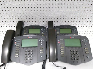 4x Polycom Soundpoint Ip501 Sip With Stand