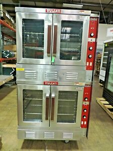 Vulcan Sg22t Gas Double Deck Snorkel Convection Oven