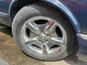 1997 1998 1999 2000 2001 2002 2003 Jaguar Xk8 Set 4pc 17 Chrome Wheels Tires
