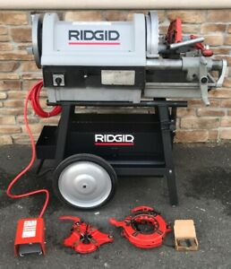 Ridgid 1224 Pipe Threader 1 2 4 Rigid 300 535 sweet Set 3