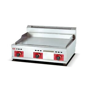 Commercial Stainless Steel Gas Flat Surface Griddle