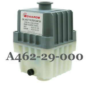 Vacuum Pump A462 29 000 Edwards Emf20 Oil Mist Filter Kf25 Port Rv12 e1m18 e2m18