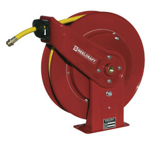 Reelcraft 7850 olpsw57 1 2 X 50 Spring Driven Garden Hose Reel For Water