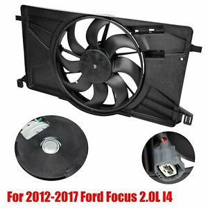Radiator Ac Condenser Cooling Fan Fit 2012 2017 Ford Focus 2 0l L4 Fo3115189