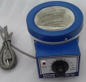 110v Heating Mantle 500ml For Round Bottom Flask 200 Watts