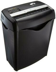 6 sheet Cross cut Paper And Credit Card Home Office Shredder