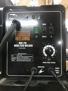 Chicago Electric Welder Mig 170 Free Shipping