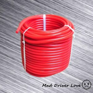 5mm 0 2 Silicone Vacuum Bov Boost Controller Intake Air Hose 50 Ft 15 24m Red