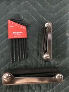 Snap On Tools Metric Sae Allen Sets 3 Brand New Round Edges