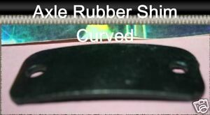 Corvette1959 1960 Curved Bottom Axle Rubber Shim One