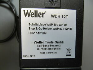 Weller Wdh10t Stop And Go Holder And Sponge For Wp80 Wsp80 And Wp120 Soldering