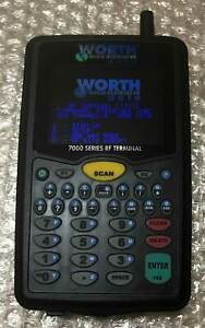 Worth Data 7000 Series Rf Terminal Inventory Scanner Bar Code Worthdata Lt7111