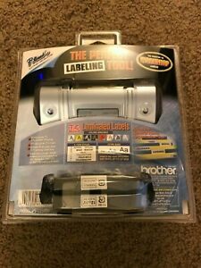 Brother Pt 1280vp Labeler Label Thermal Printer P Touch Machine Laminated Tape