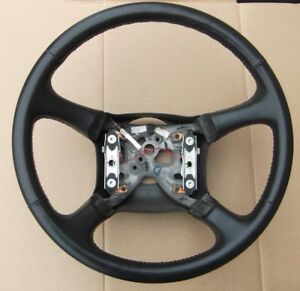 1999 2002 Chevrolet Chevy Silverado Gmc Sierra Steering Wheel Leather 1500 Hd