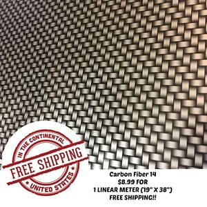 Hydrographic Water Transfer Hydro Dipping Dip Film Carbon Fiber 14 1m 19 x38